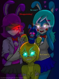 Anime FT Freddie meets my Nightmare. FNIA owned by Fnaf owned by Scott Cawthon.T Freddie vs . Teen Titans Tentacles, Rabbit Season, Five Nights At Anime, Fnaf Night Guards, Fnaf Baby, Anime Monsters, Fnaf Sister Location, Fnaf Characters, Thicc Anime