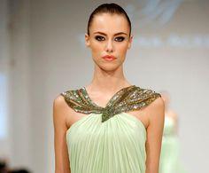 Simply Elegant: Tatyana Aceeva Creations - Muscat Fashion week 2013