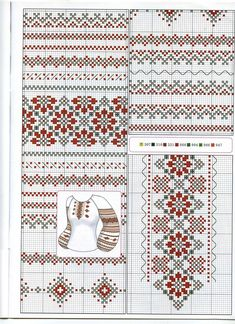 Awesome Most Popular Embroidery Patterns Ideas. Most Popular Embroidery Patterns Ideas. Cross Stitch Boarders, Cross Stitch Charts, Cross Stitching, Cross Stitch Patterns, Folk Embroidery, Cross Stitch Embroidery, Embroidery Patterns, Bordado Popular, Palestinian Embroidery