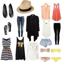 stylish packing list for southeast asia