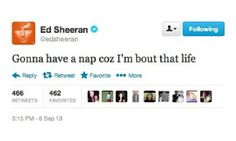 The wise words of Ed Sheeran