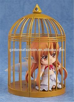 Wholesale Q Version Clay Sword Art Online Birdcage Yuuki Asuna Action Figure, View Sword Art Online, donnatoyfirm Product Details from Guangzhou Donna Fashion Accessory Co., Ltd. on Alibaba.com