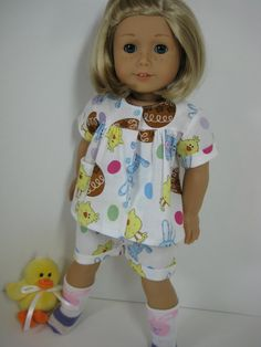 18 Inch Doll Clothes American Girl Summer Easter by nayasdesigns, $16.50