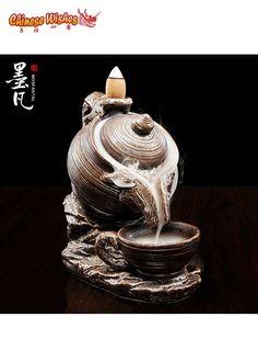 Big Teapot Backflow Incense Burner -- $42.95