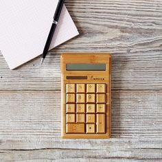 Bamboo Calculator @ WestElm $17