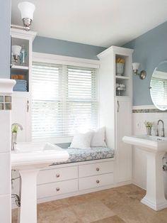 Bathroom Renovations On a Budget | ... bathroom renovations on a budget: http://www.bhg.com/bathroom