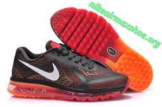 Carbon Grey Team Orange 621077 006 Nike Air Max 2014 Mens