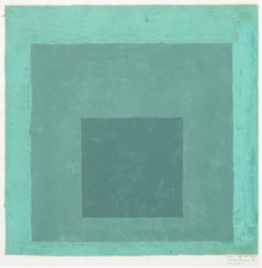 Josef Albers, Study for Homage to the Square, n.d. Oil on blotting paper. 30.48 x 33.338 cm (12 x 13.125 inches)