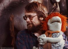 Dave Goelz with Boober Fraggle