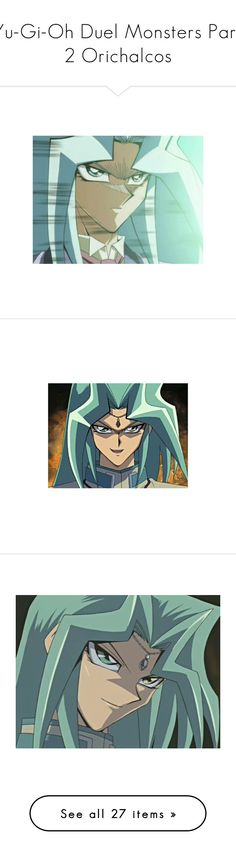 """""""Yu-Gi-Oh Duel Monsters Part 2 Orichalcos"""" by mozzlezh ❤ liked on Polyvore featuring yu-gi-oh, home and kitchen & dining"""