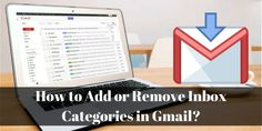 Read this blog and learn how you can add or remove #InboxCategoriesInGmail. If you want to get more information about #GmailInboxCategories, contact our #GmailTechnicalSupportNumber Australia +(61)283173468.