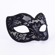 Lacy Silver. Elegant black trim and satin ties are the luxe finishing touches that make this mask extra special. vivomasks.com