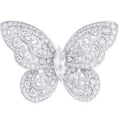 Diamond Butterfly Ring   Graff Diamonds