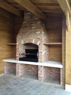 Barbecue Design, Grill Design, Küchen Design, Brick Built Bbq, Brick Bbq, Outdoor Barbeque, Pizza Oven Outdoor, Outdoor Kitchen Design, Home Decor Kitchen