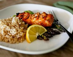 Maple Salmon on the Grill | http://www.bake-aholic.com/maple-salmon-on-the-grill/