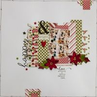 A Project by LCQSART from our Scrapbooking Gallery originally submitted 12/23/13 at 06:05 AM