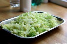 Recette de Chou vert et petits lardons
