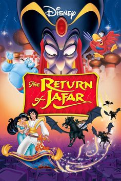 Shop for The Return Of Jafar [dvd]. Starting from Choose from the 8 best options & compare live & historic dvd prices. Disney Dvd, Walt Disney, Disney Movie Posters, Disney Films, Aladdin Disney Movie, Disney Pixar, Diseny Movies, The Return Of Jafar, Citations Film