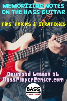 Strategies, Tips & Tricks for how to memorize all of the notes on the Bass Guitar Fretboard #BassNotes #BassCharts #Fretboard #BassFrets #BassTips #BassGuitar Bass Guitar Scales, Play Guitar Chords, Learn Guitar Chords, Bass Guitar Lessons, Guitar Lessons For Beginners, Guitar Tips, Guitar Songs, Teach Yourself Guitar, Guitar Exercises