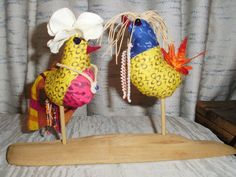 Designed these wedding birds for a couple from Rwanda and Uganda.  My inspirations are on this pinterest board.  folkanna/rwanda-uganda wedding birds
