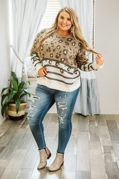fall outfits for work FallOutfits plus size fall fashion for women Curvy Harve. - fall outfits for work FallOutfits plus size fall fashion for women Curvy Harvest Honey Leopard/S - Plus Size Winter Outfits, Plus Size Fall Outfit, Fall Outfits For Work, Cute Fall Outfits, Plus Size Fashion For Women, Plus Size Womens Clothing, Summer Outfits, Curvy Girl Outfits, Mom Outfits