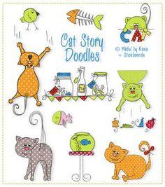 Cat Story Doodles