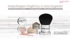 O nosso Segredo para uma #maquilhagem de aspecto profissional? Maquilhagem Orgânica: Com excelente pigmentação e durabilidade intensa! Vai <3! #Glamssecret www.glamssecret.com