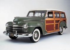 1948 Plymouth Special Deluxe Woody Station Wagon
