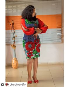 Welcome to Ankara Styles Here is a massive list of Ankara short gown styles you … Short African Dresses, Ankara Short Gown Styles, Short Gowns, Ankara Gowns, African Print Dresses, African Fashion Ankara, Latest African Fashion Dresses, African Print Fashion, Ankara Stil