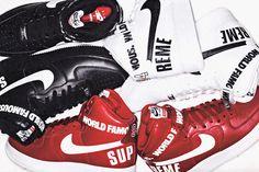 Supreme x Nike Air Force 1 Hi Pack