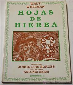Hojas de hierba / Walt Whitman ; traducción Jorge Luis Borges