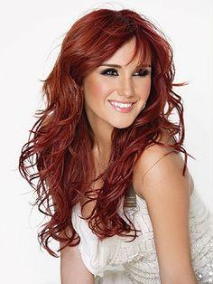 Rote haare farben von braun