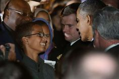Ahmed Mohamed Meets Obama, Leaves Clock at Home