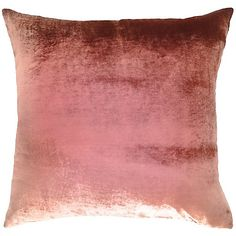 Kevin O'Brien Studio Ombre Rose Silk Velvet Pillow