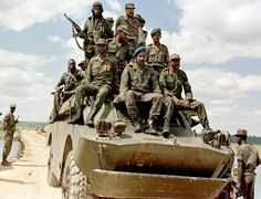 South African Border War, Namibia  Angola 1966 - 1989