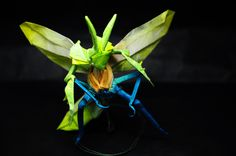mantis[humanoid] by origami-M-H-G :)