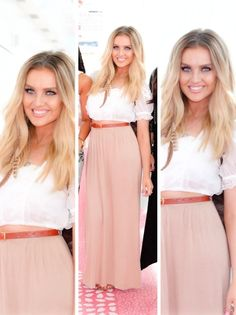 Perrie- Someday I hope to be like her and sing on a stage to an arena full of thousands of people✈️
