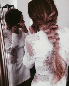 balayage, beautiful, blonde, braid, braided hairstyle, expensive, fancy, flawless hair, girly, hair, lace, messy braid, model, ombre, photography, pink, pretty, silver, tan, wedding, wedding hairstyles, hair goals