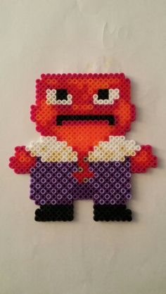 Anger - Inside Out movie hama perler beads