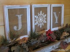Christmas & Holiday Decor: Burlap and a Dollar Tree Ornament