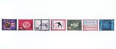 Tokyo Antique TRAVEL STAMPS tape 25T by tokyo antique 東京アンティーク|Pipit Zakka Store