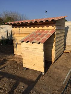 Pallet Chicken Coop - Easy To Do With Pallets | 99 Pallets