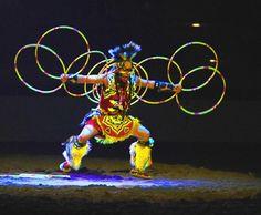 Hoop Dancing is something else...