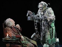 'A Christmas Carol' by Charles Dickens - Ebenezer Scrooge is visited by the Ghost of Jacob Marley. Marley Christmas Carol, Christmas Carol Ghosts, Dickens Christmas Carol, Ghost Of Christmas Past, Christmas Tale, Ebenezer Scrooge, Scrooge The Musical, Jacob Marley, Maine