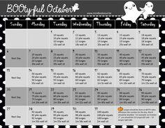 BOO-tyful 31-day challenge
