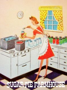 To be a 1950s housewife :) I grew up in the wrong era...