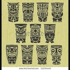 ***** Polynesian style bracelet ,polynesian tattoo styled ,circle polynesian tattoo... *****