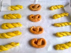 1612201319891 Onion Rings, Greek Recipes, Cookie Recipes, Biscuits, Food And Drink, Peach, Candy, Fruit, Cooking