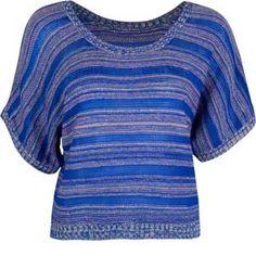 FULL TILT Kimono Stripe Womens Sweater