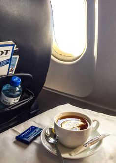 The next time you try to catch some Z's on the plane, a cup of tea should help. #CabeauKnows